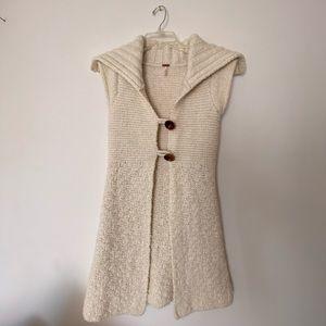 Free people sweater vest - size medium